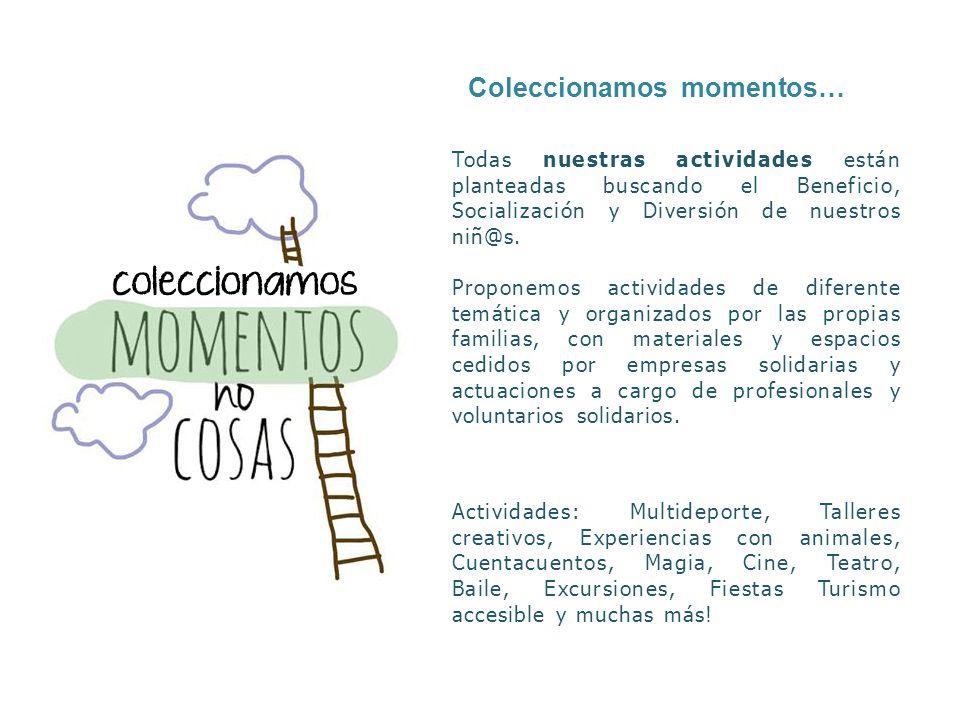 Coleccionamos momentos…