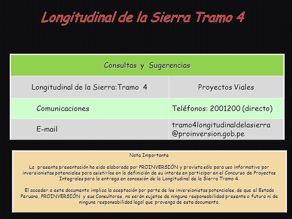 Longitudinal de la Sierra Tramo 4