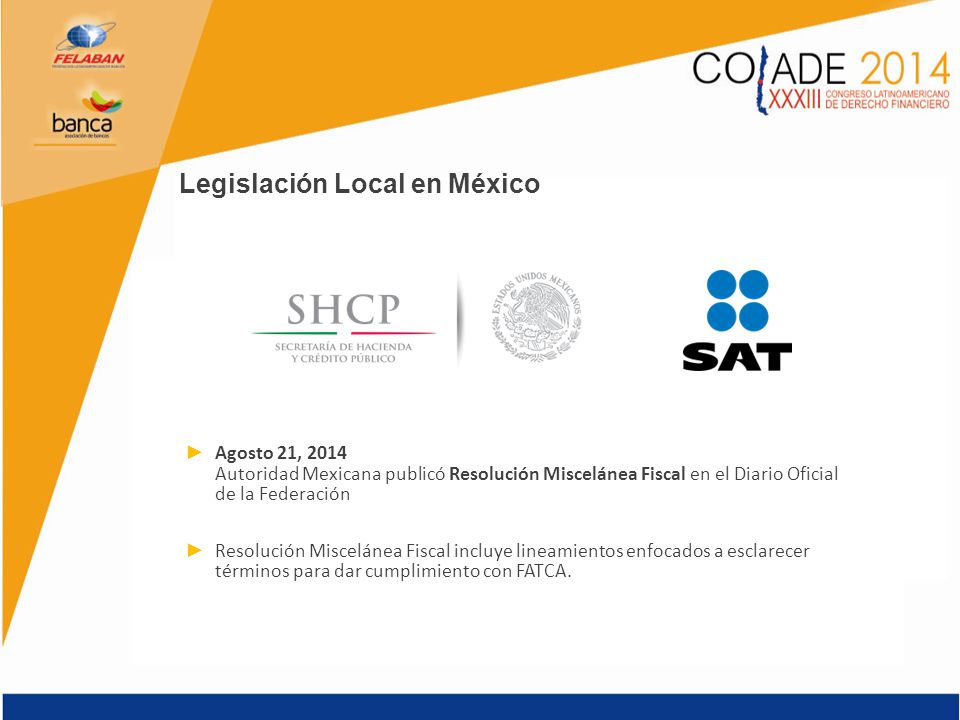 Legislación Local en México