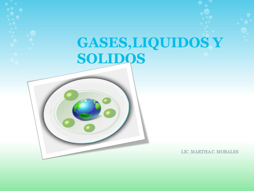 GASES,LIQUIDOS Y SOLIDOS