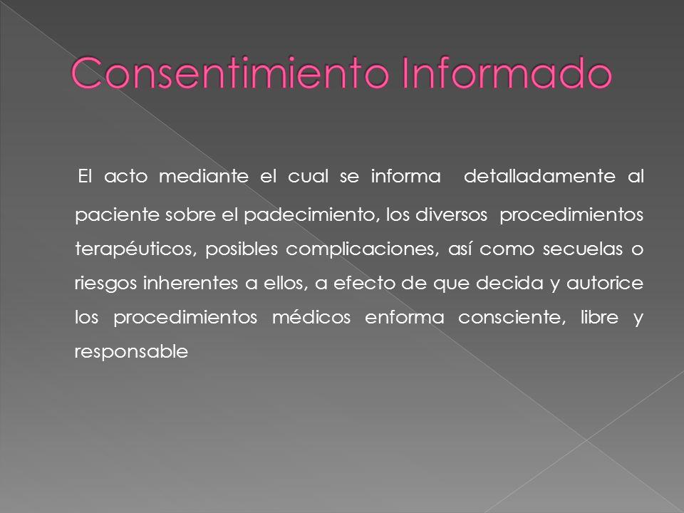 Consentimiento Informado
