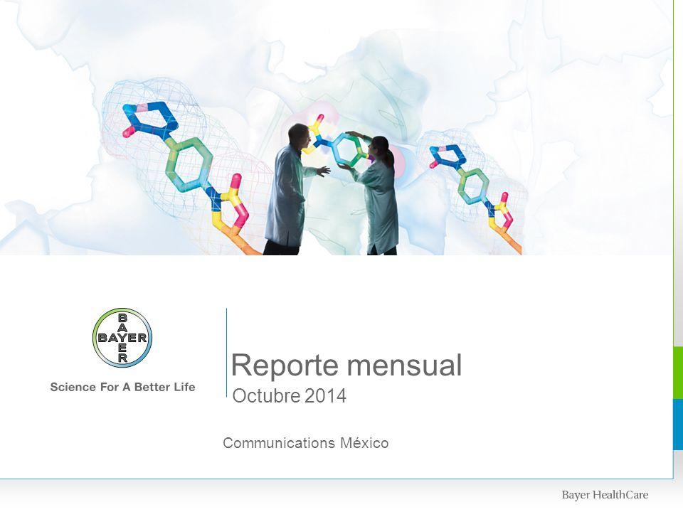 Reporte mensual Octubre 2014 Communications México