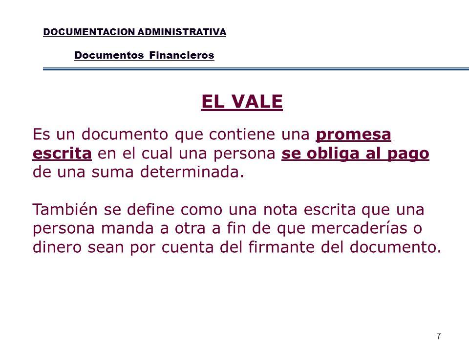 DOCUMENTACION ADMINISTRATIVA
