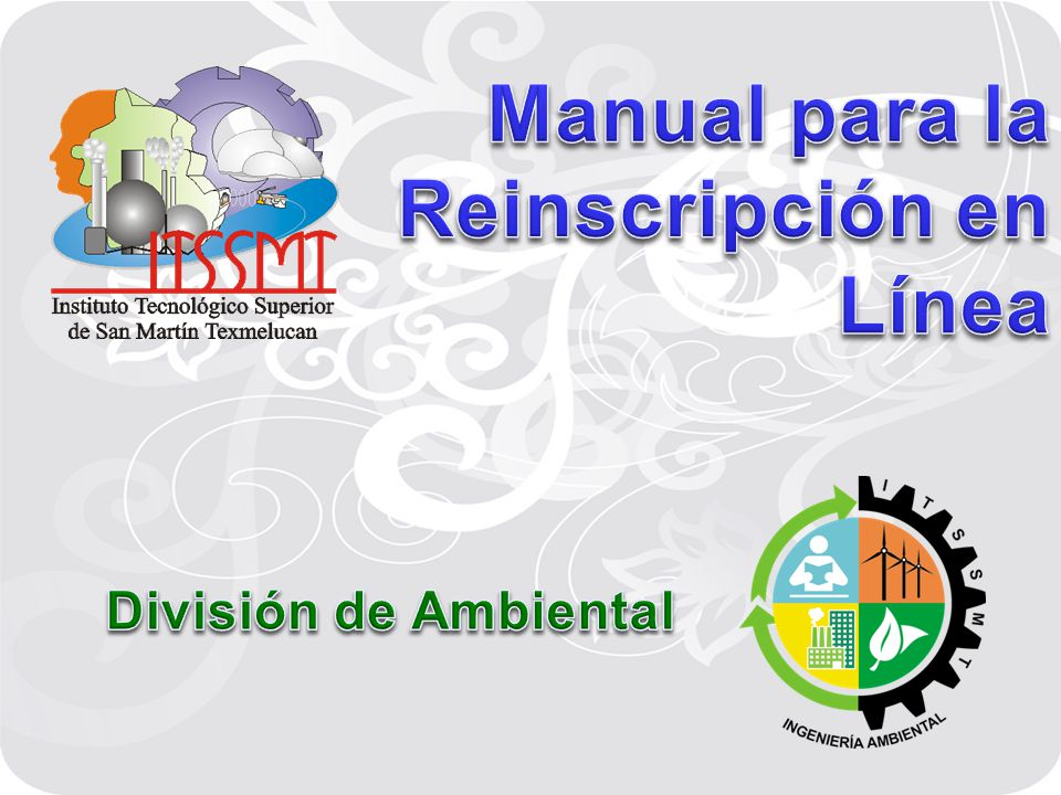 Manual para la Reinscripción en Línea