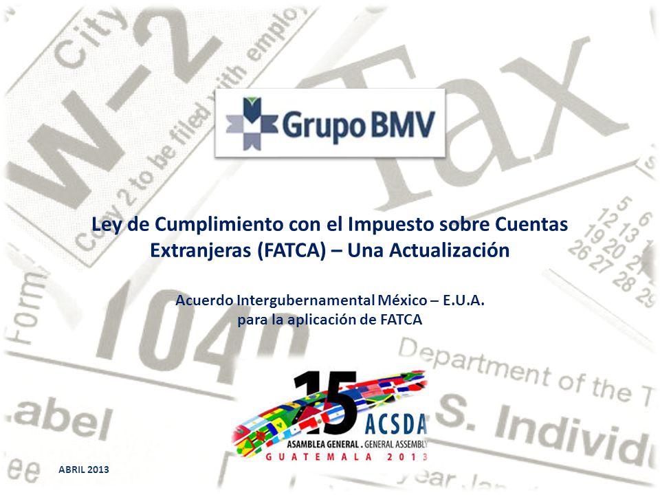Ley de Cumplimiento con el Impuesto sobre Cuentas