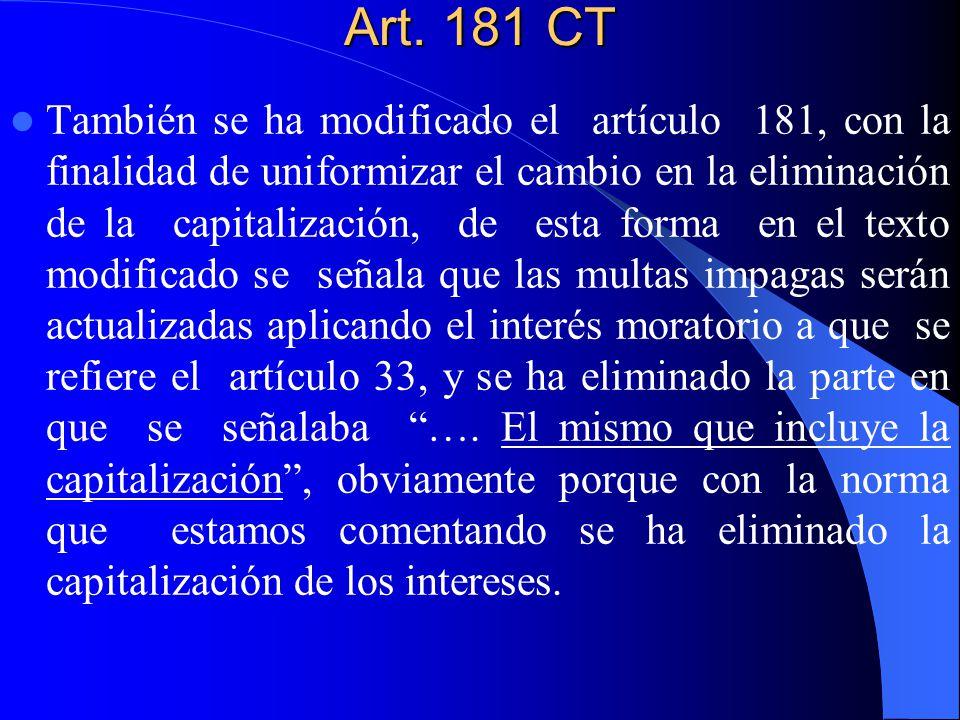 Art. 181 CT
