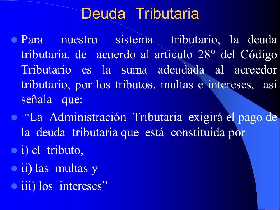 Deuda Tributaria