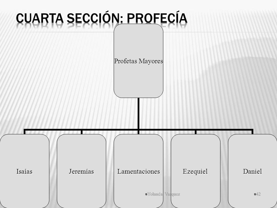 Cuarta Sección: Profecía