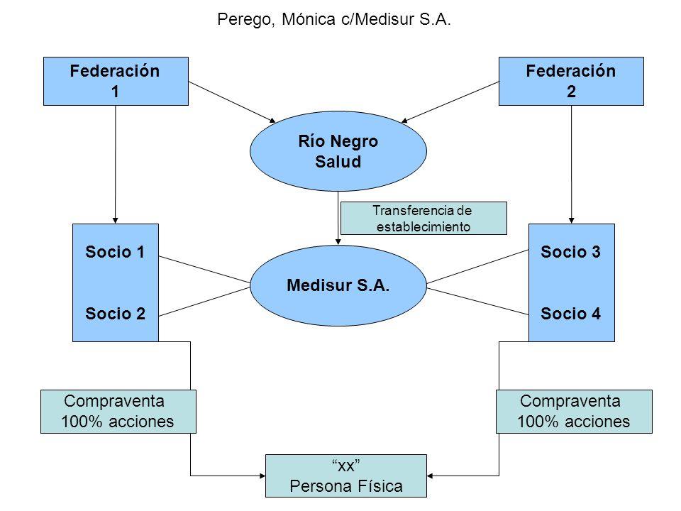 Perego, Mónica c/Medisur S.A.