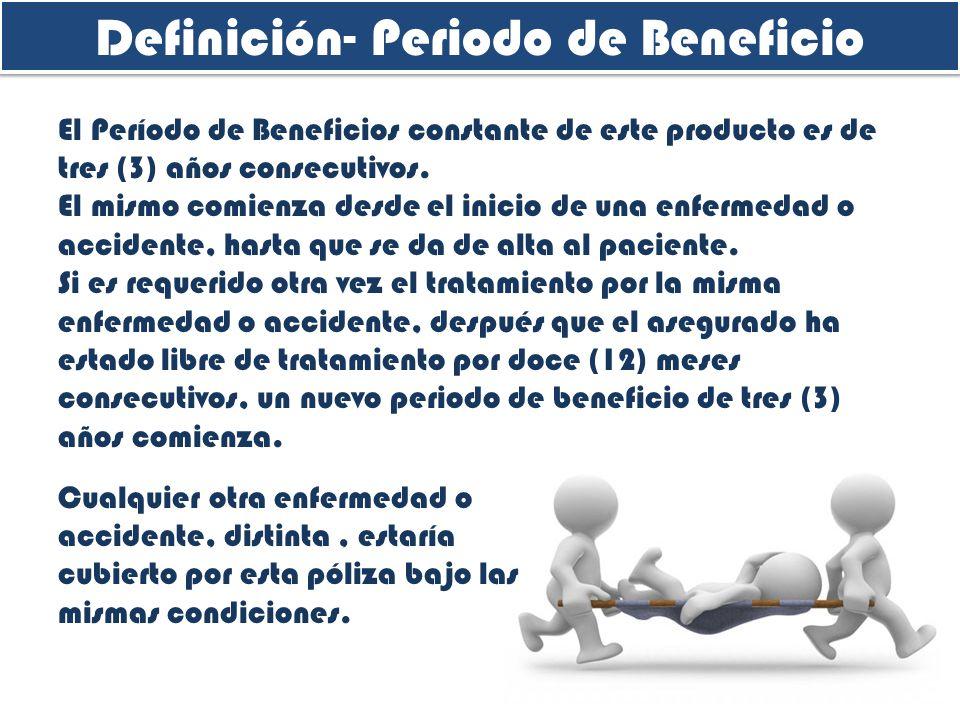 Definición- Periodo de Beneficio