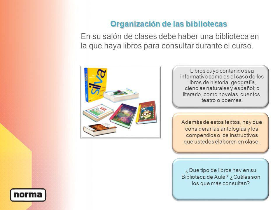 Organización de las bibliotecas