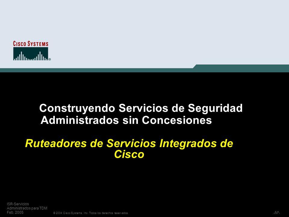 Construyendo Servicios de Seguridad Administrados sin Concesiones