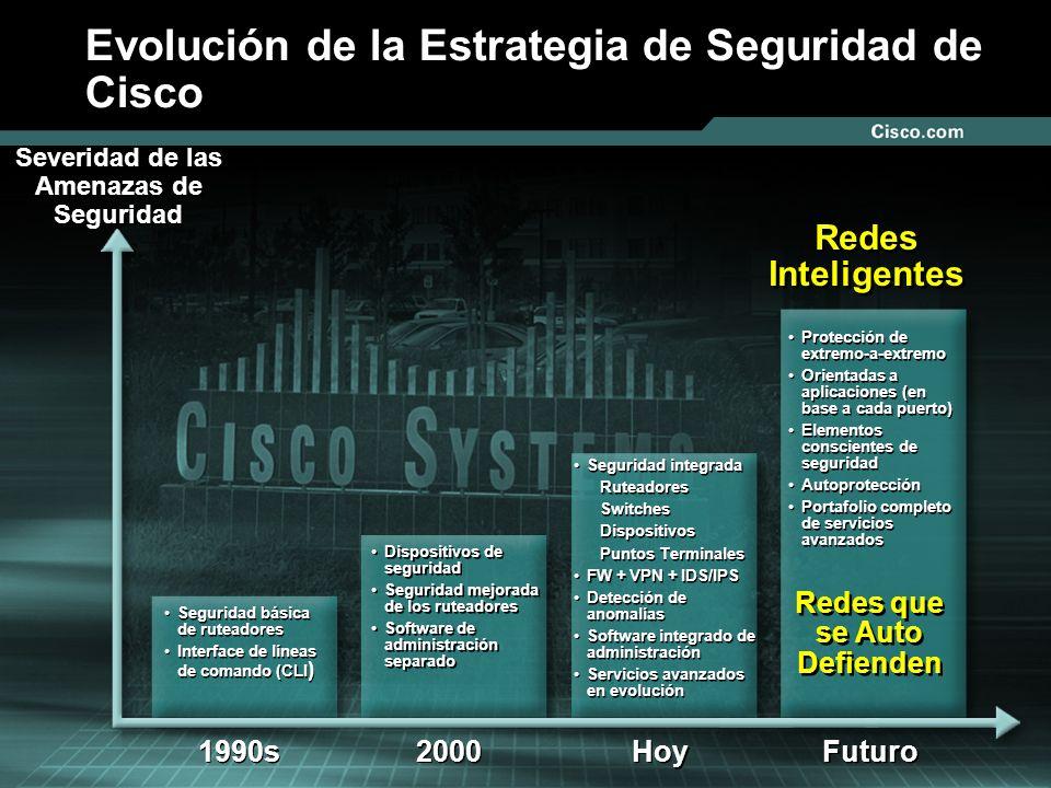 Evolución de la Estrategia de Seguridad de Cisco