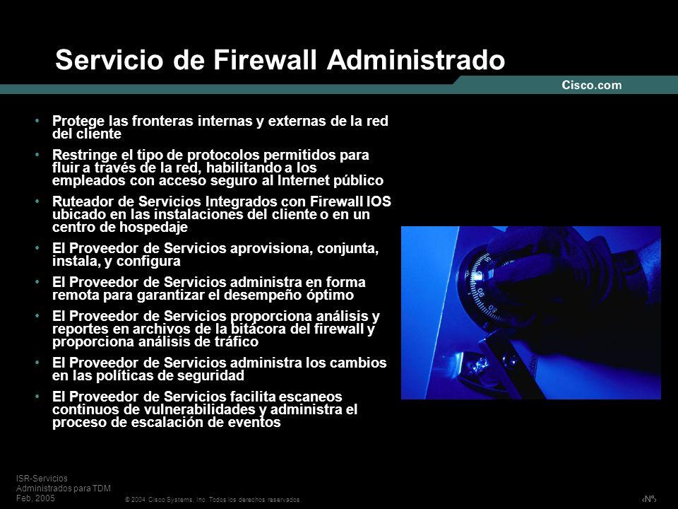 Servicio de Firewall Administrado