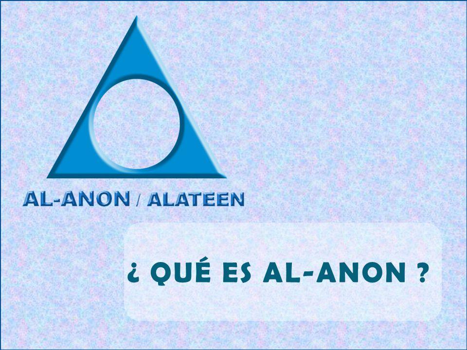 ¿ QUÉ ES AL-ANON