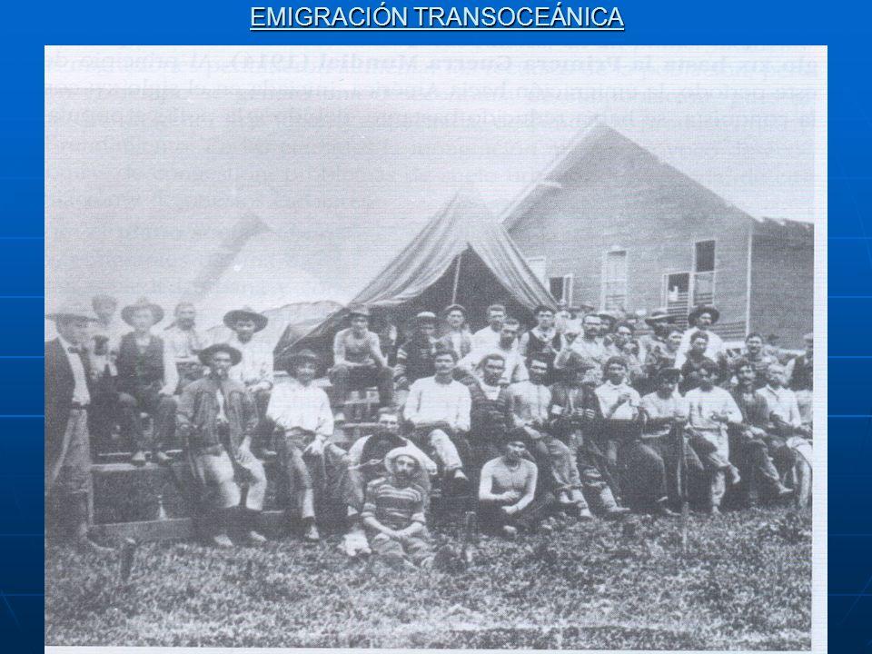 EMIGRACIÓN TRANSOCEÁNICA