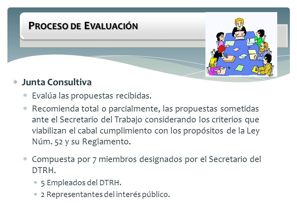 Proceso de Evaluación Junta Consultiva