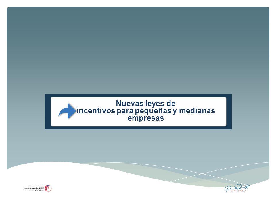 incentivos para pequeñas y medianas empresas