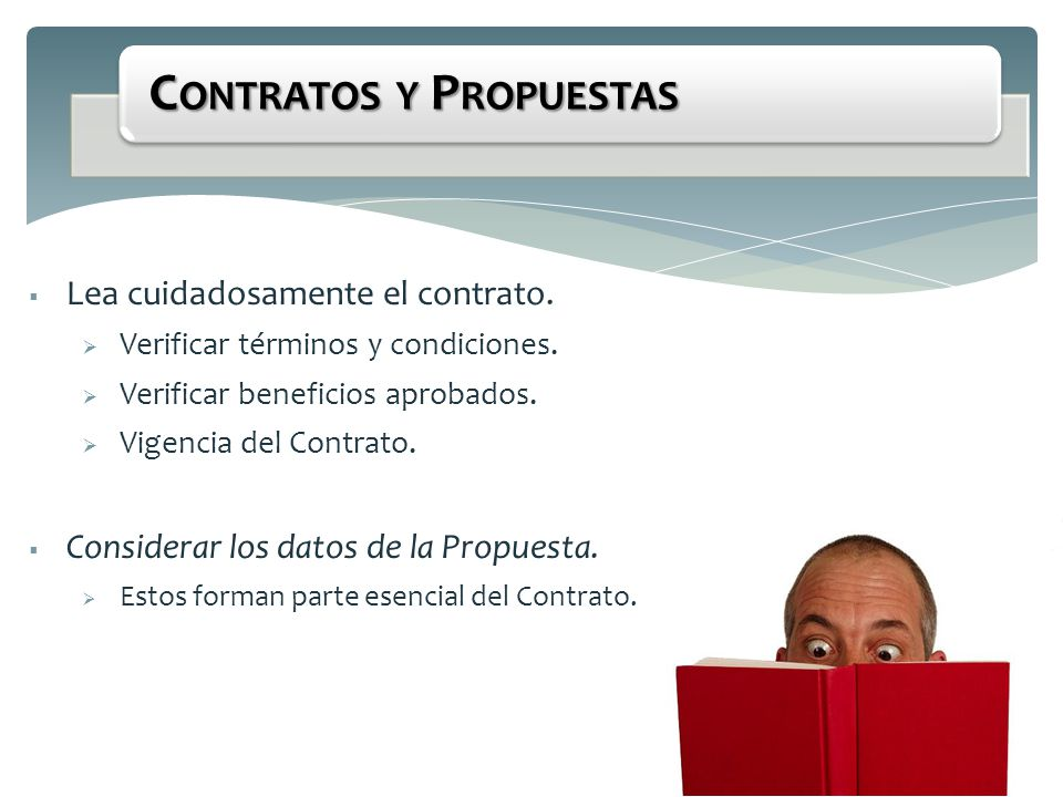 Contratos y Propuestas