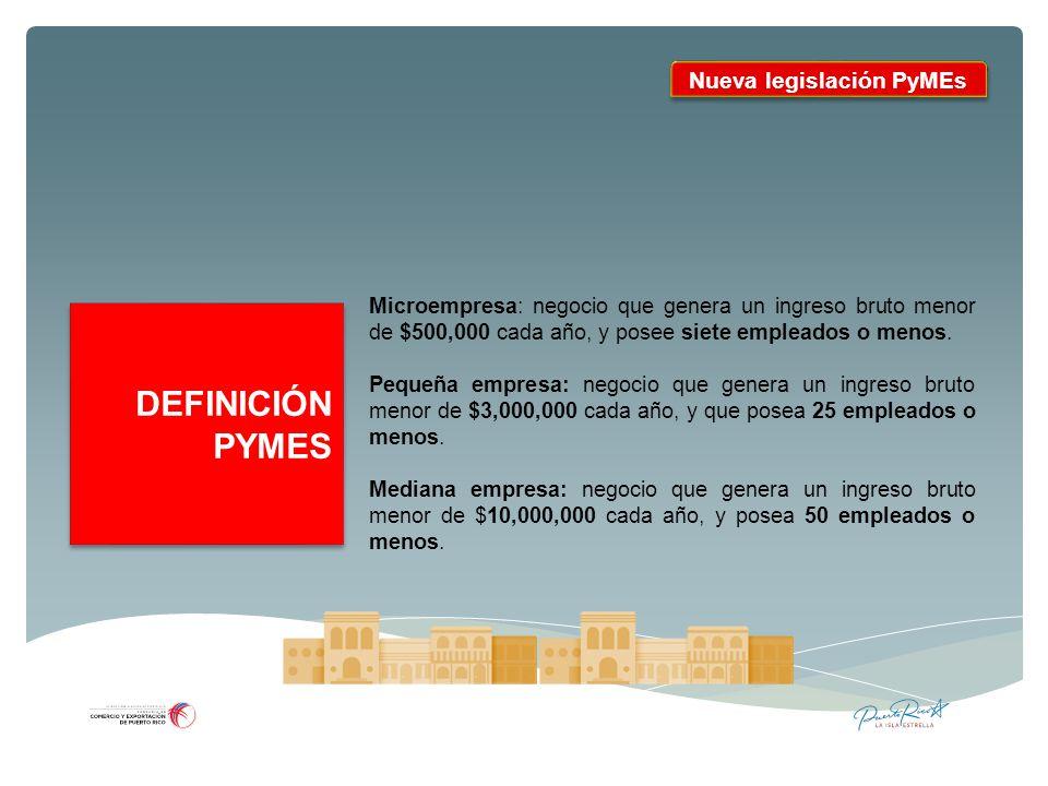 Nueva legislación PyMEs