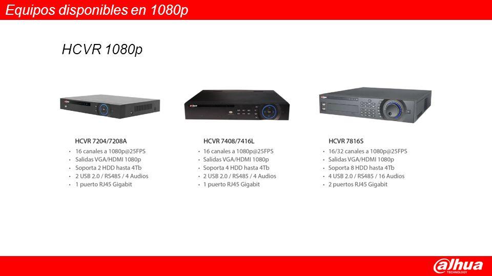 Equipos disponibles en 1080p