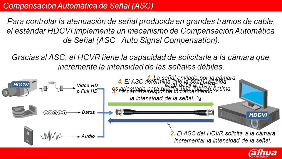 Compensación Automática de Señal (ASC)