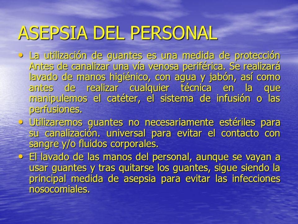 ASEPSIA DEL PERSONAL
