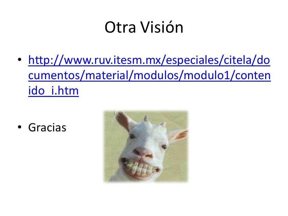 Otra Visión http://www.ruv.itesm.mx/especiales/citela/documentos/material/modulos/modulo1/contenido_i.htm.
