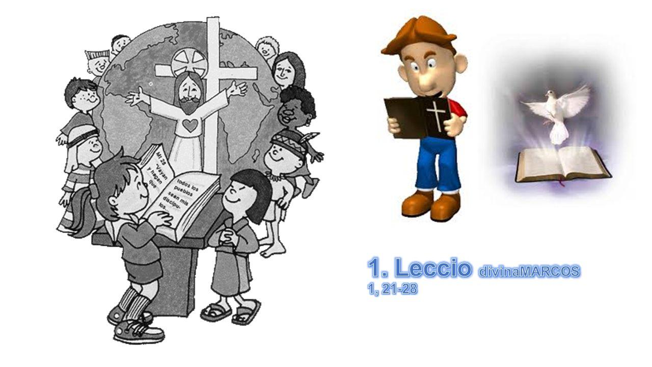 1. Leccio divinaMARCOS 1, 21-28