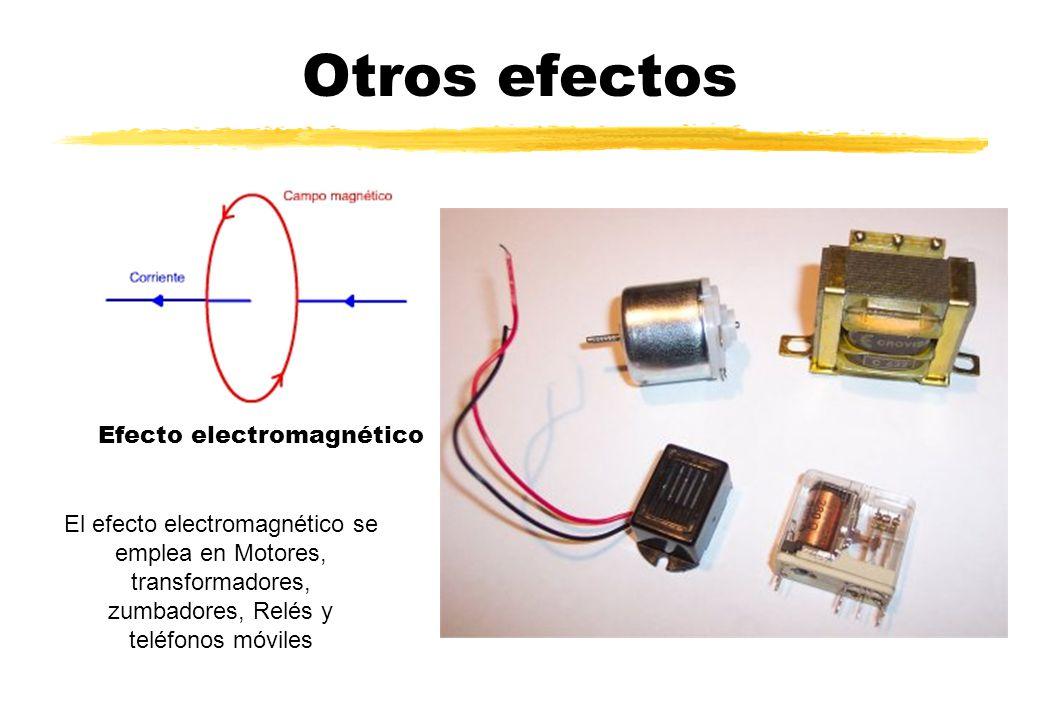 Otros efectos Efecto electromagnético