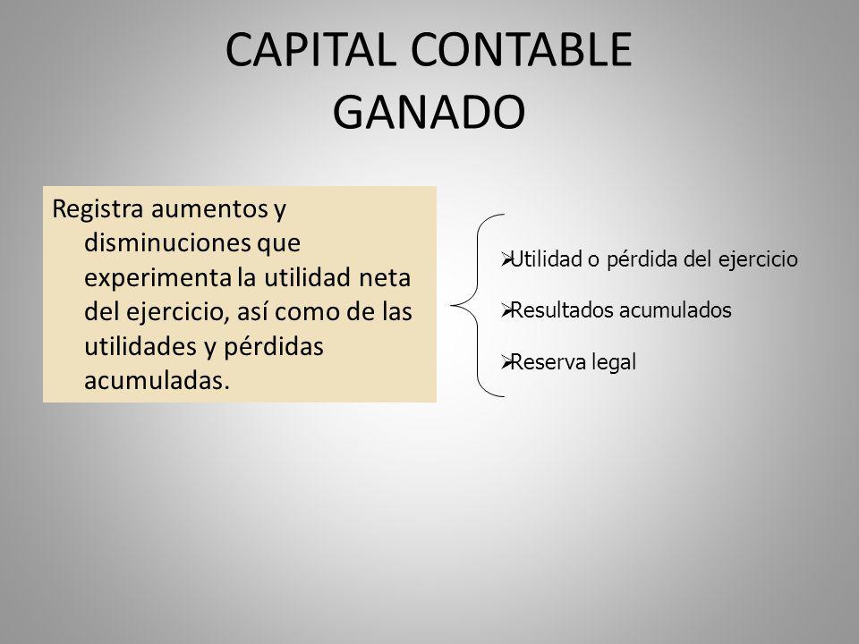 CAPITAL CONTABLE GANADO
