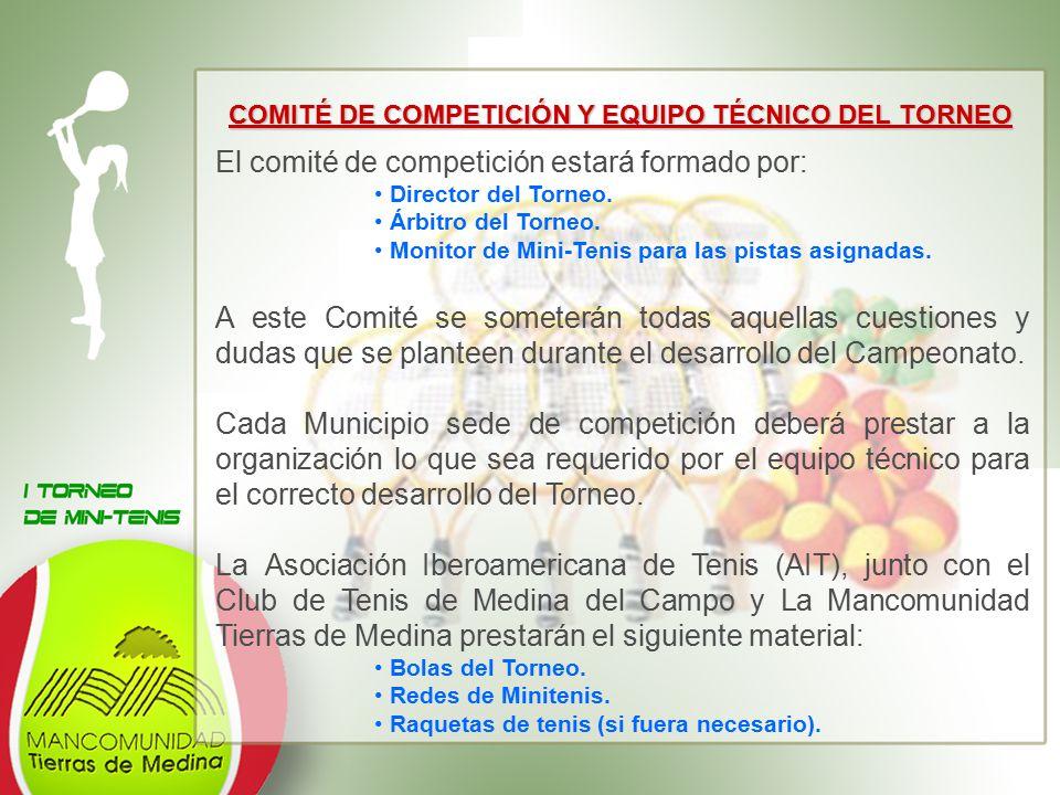 COMITÉ DE COMPETICIÓN Y EQUIPO TÉCNICO DEL TORNEO