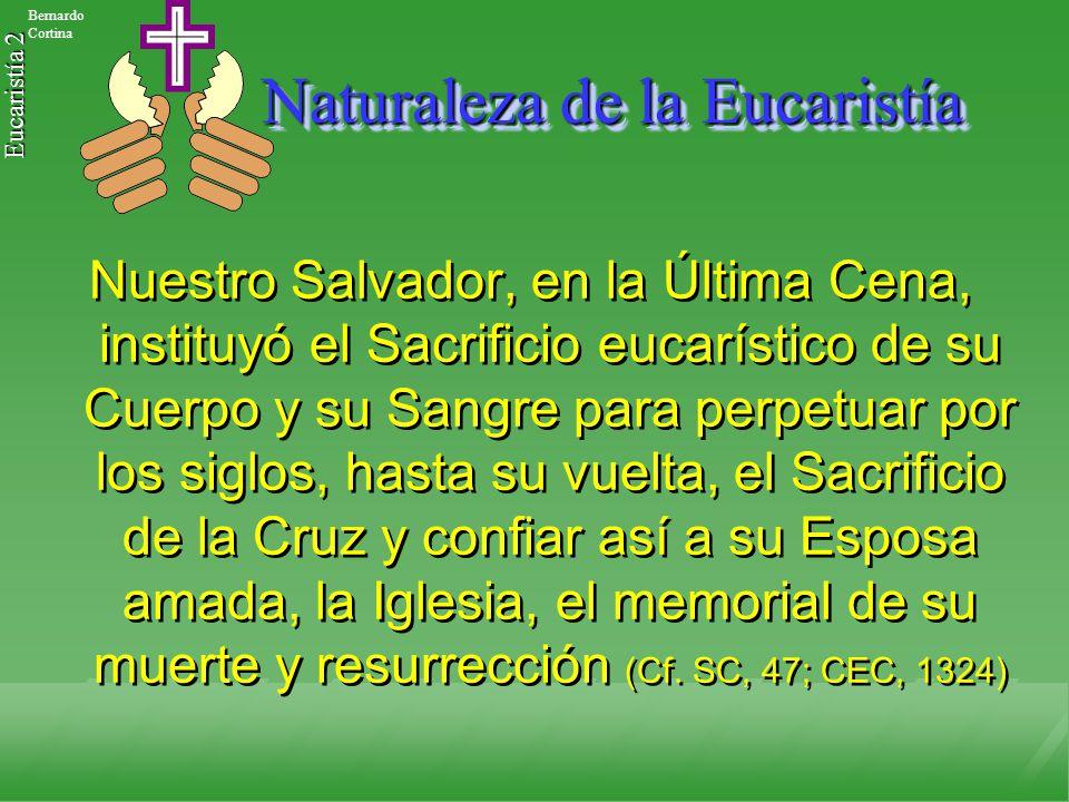 Naturaleza de la Eucaristía