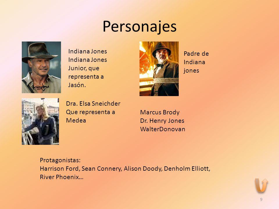 Personajes Indiana Jones Indiana Jones Junior, que representa a Jasón.