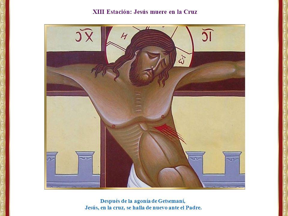 XIII Estación: Jesús muere en la Cruz