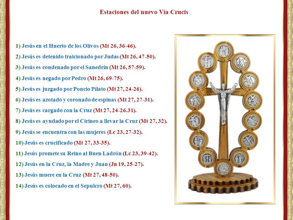 Estaciones del nuevo Vía Crucis