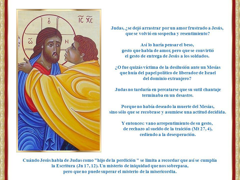 Judas, ¿se dejó arrastrar por un amor frustrado a Jesús,