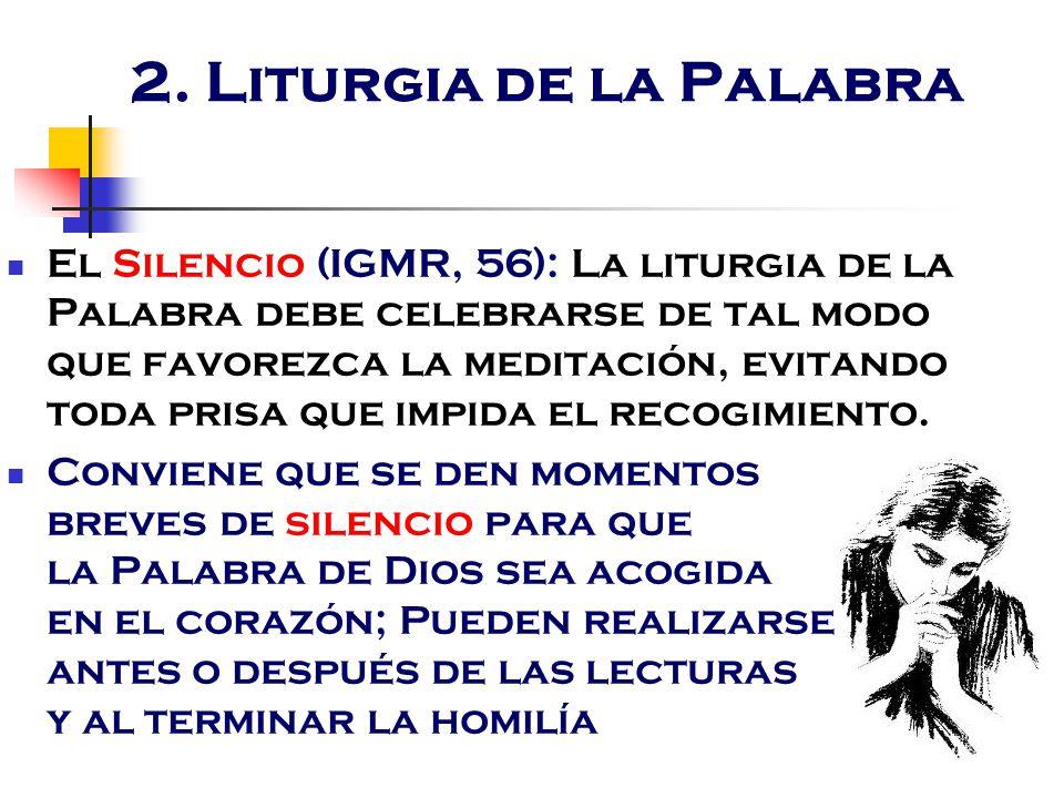 2. Liturgia de la Palabra