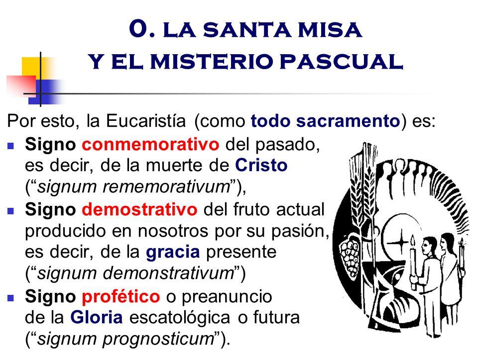 0. la santa misa y el misterio pascual