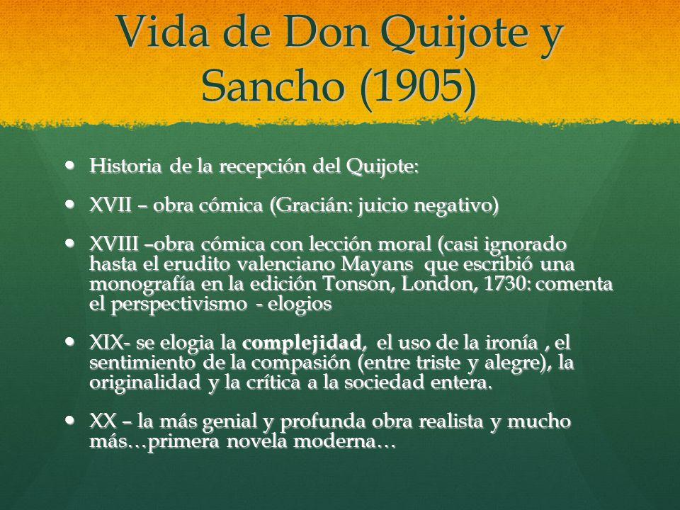 Vida de Don Quijote y Sancho (1905)