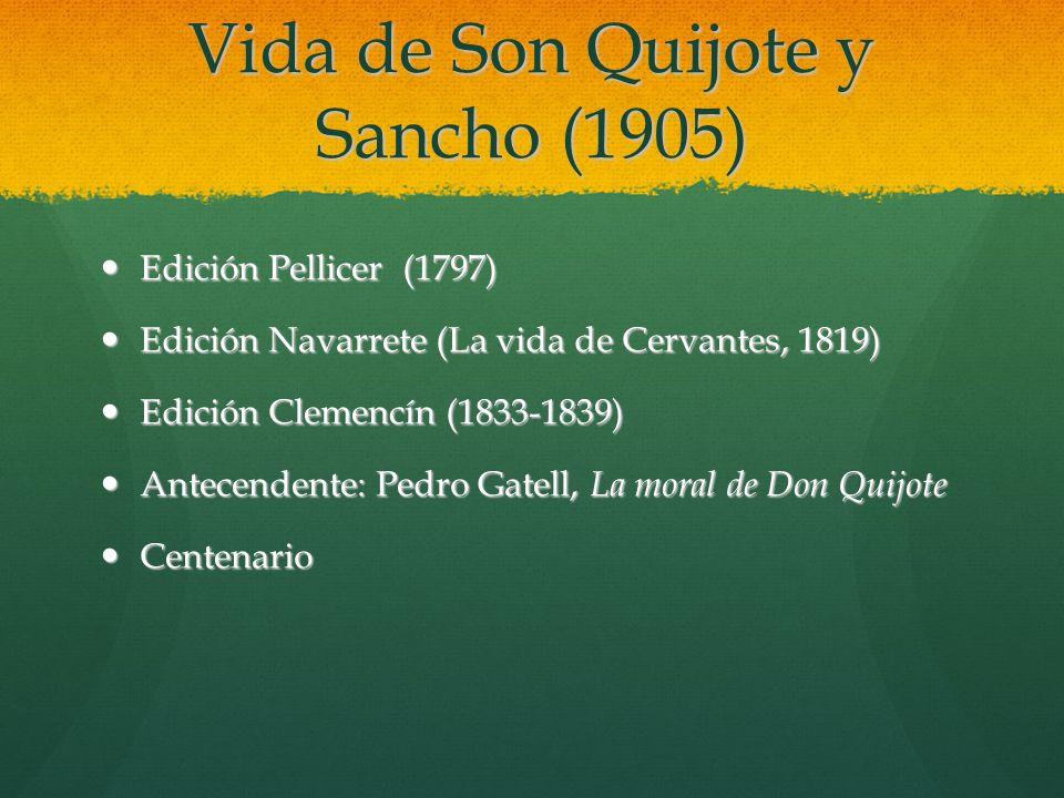 Vida de Son Quijote y Sancho (1905)