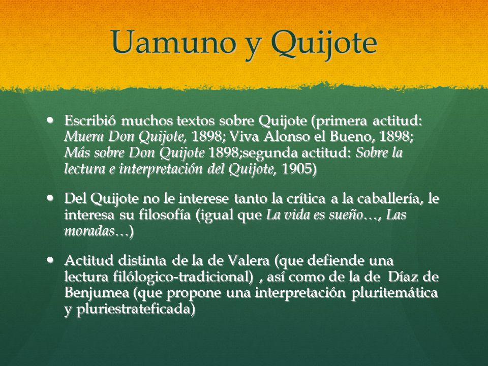 Uamuno y Quijote