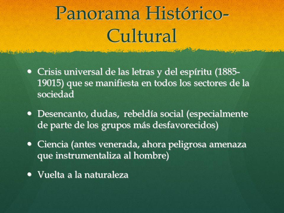 Panorama Histórico-Cultural