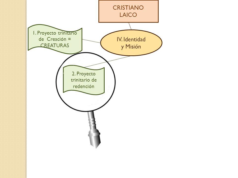 CRISTIANO LAICO IV. Identidad y Misión