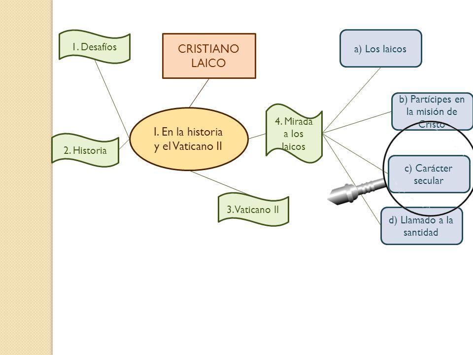 I. En la historia y el Vaticano II