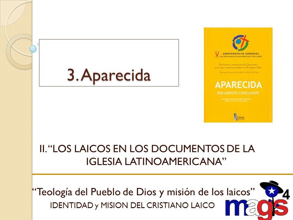 II. LOS LAICOS EN LOS DOCUMENTOS DE LA IGLESIA LATINOAMERICANA