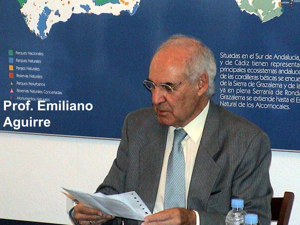 Prof. Emiliano Aguirre