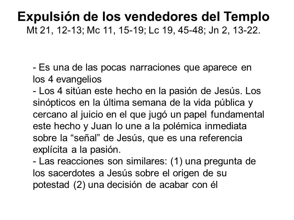 Expulsión de los vendedores del Templo
