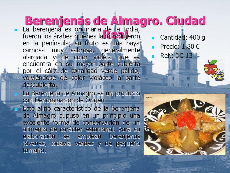 Berenjenas de Almagro. Ciudad Real