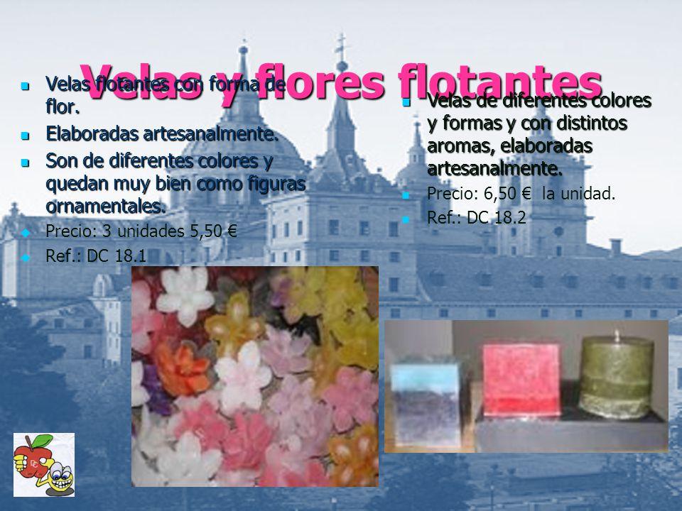 Velas y flores flotantes